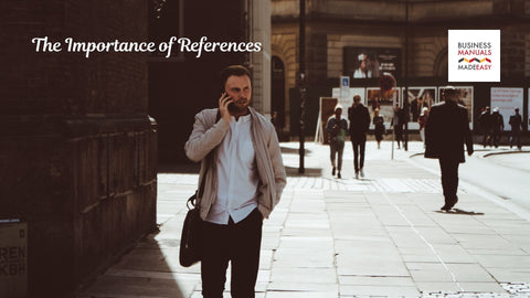 The Importance Of References