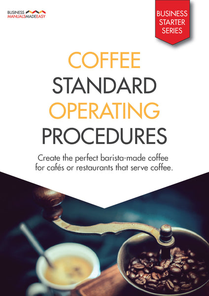 Coffee Standard Operating Procedures Manual