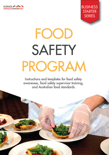 Food Safety Program Manual