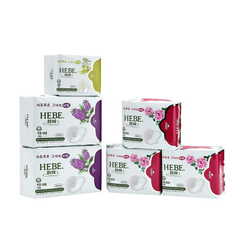 HEBE SET (Large x 1 + Medium x 3 + Panty Liner x 2)