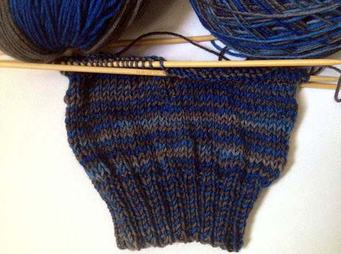 ombre yarn sample