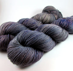 Specter colorway by Dye is Cast Yarns