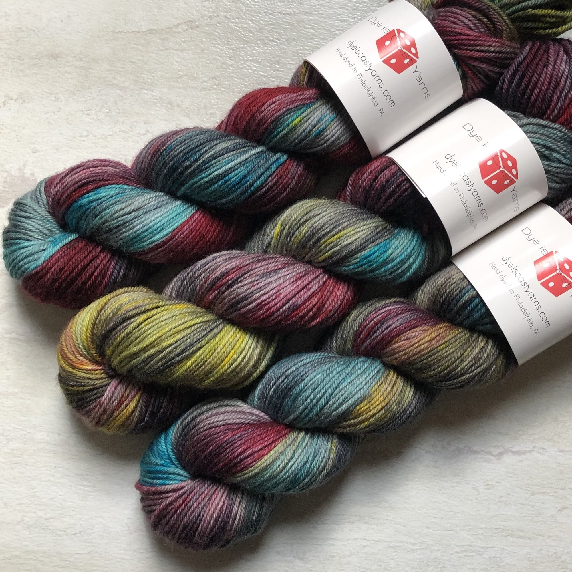 Gothic Rainbow - Squish Like Grape DK