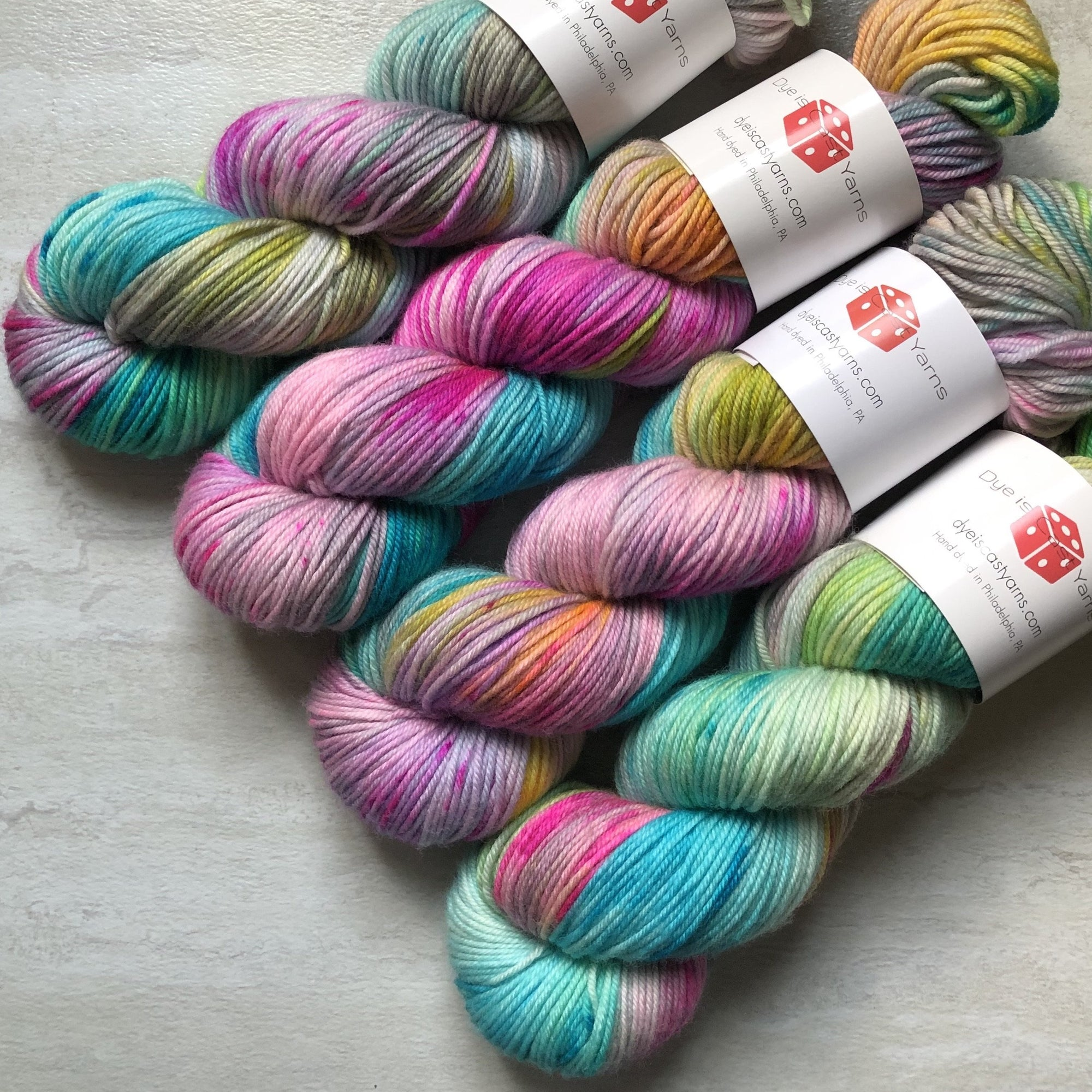 Rainicorn - Squish Like Grape DK