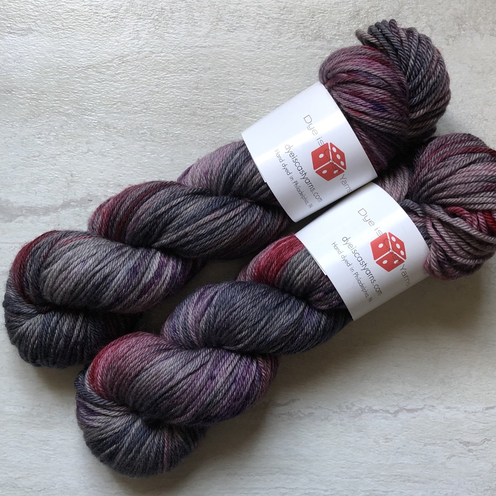 Sanguine Rose - Squish Like Grape Worsted