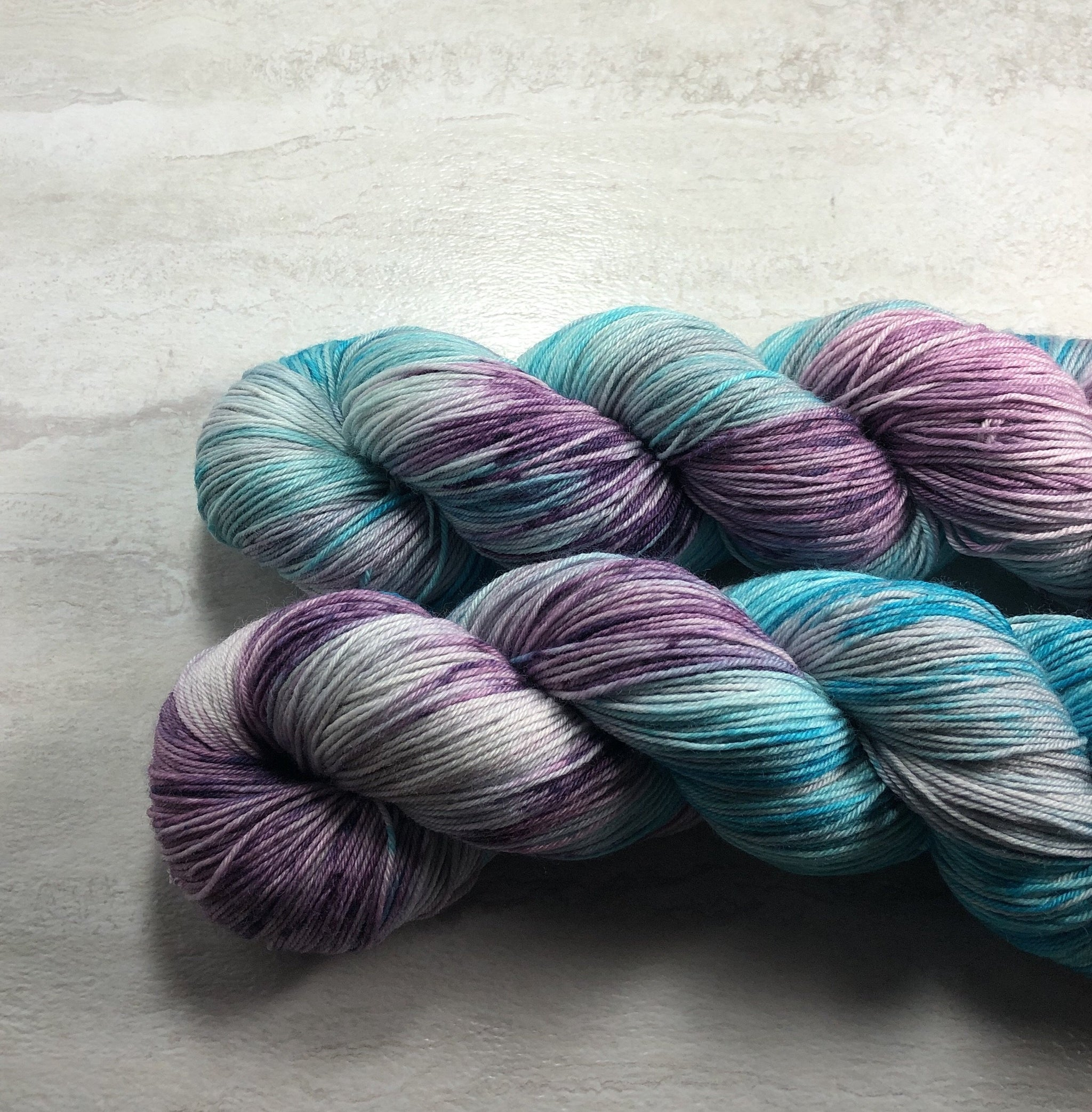 So Dreamy - Squish Wish Sock Yarn Dye is Cast Yarns