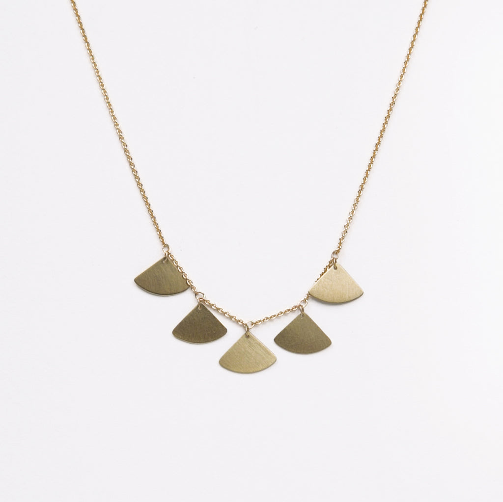 Carla Caruso Ginkgo Leaf Necklace