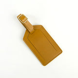 LWM Leather Luggage Tag