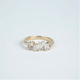 Suzanne Kalan 14K Gold Uneven Band Rings