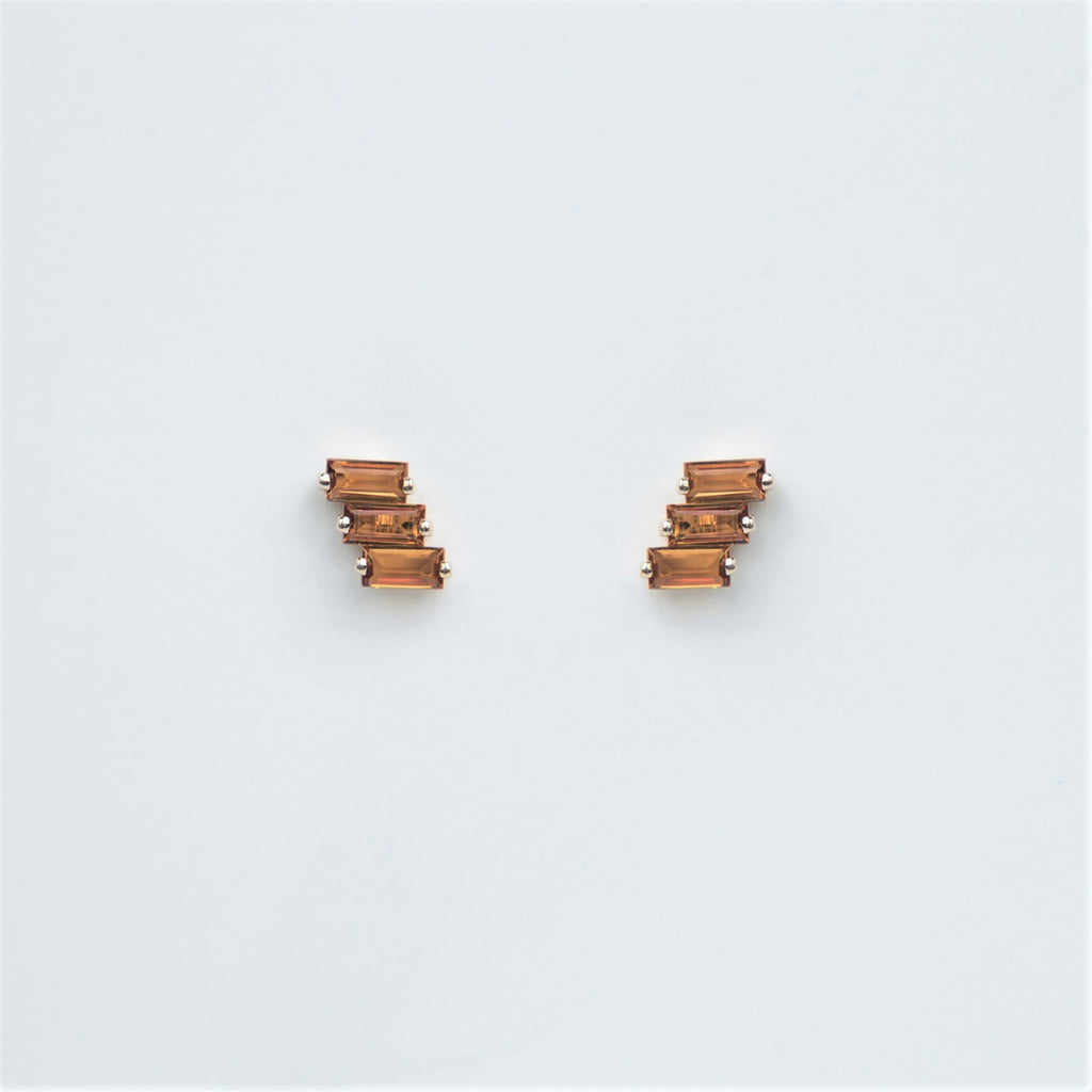 Suzanne Kalan 14K Gold Amalfi Stud Earrings