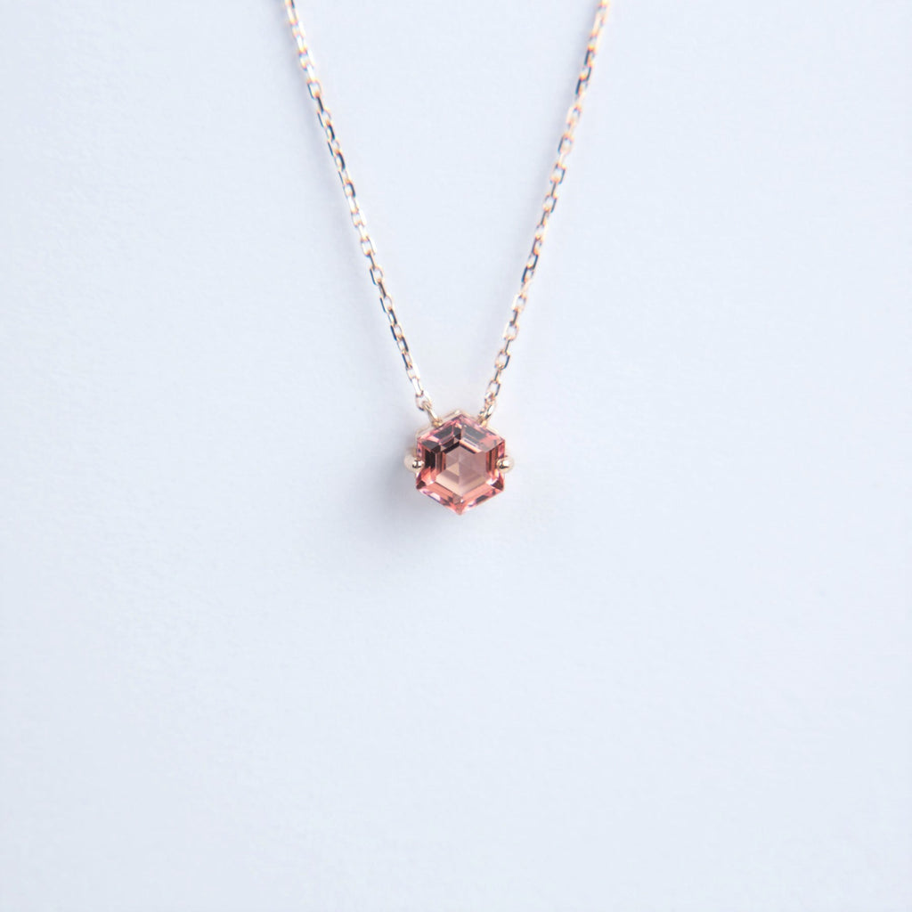 Suzanne Kalan 14K Gold Bloom Hexagon Necklace