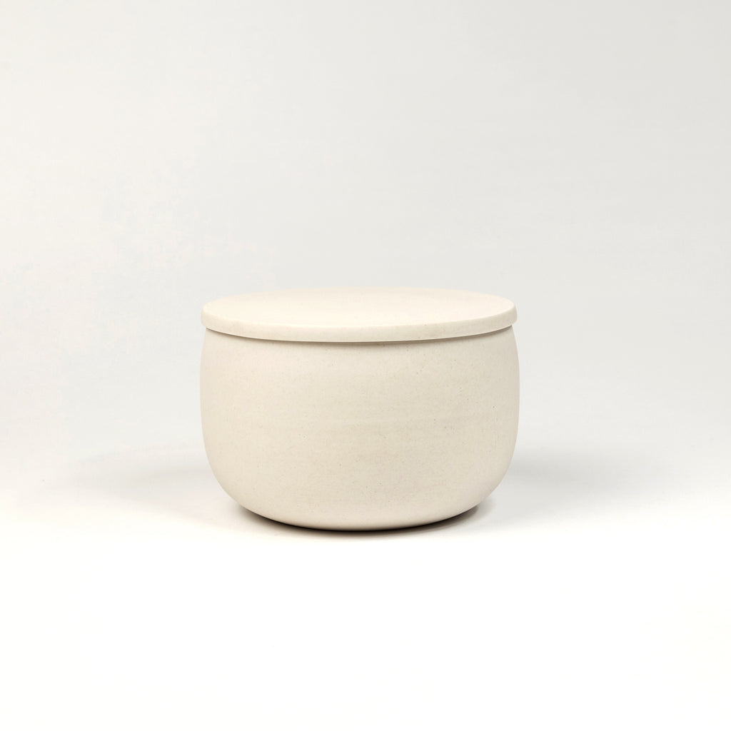 Lilith Rockett Lidded Jars - White