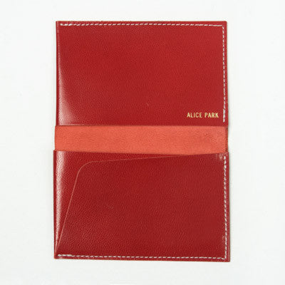 Alice Park Folded Card Case