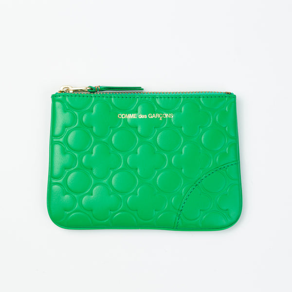 "Comme des Garcons Wallets: Color Embossed ""B"""