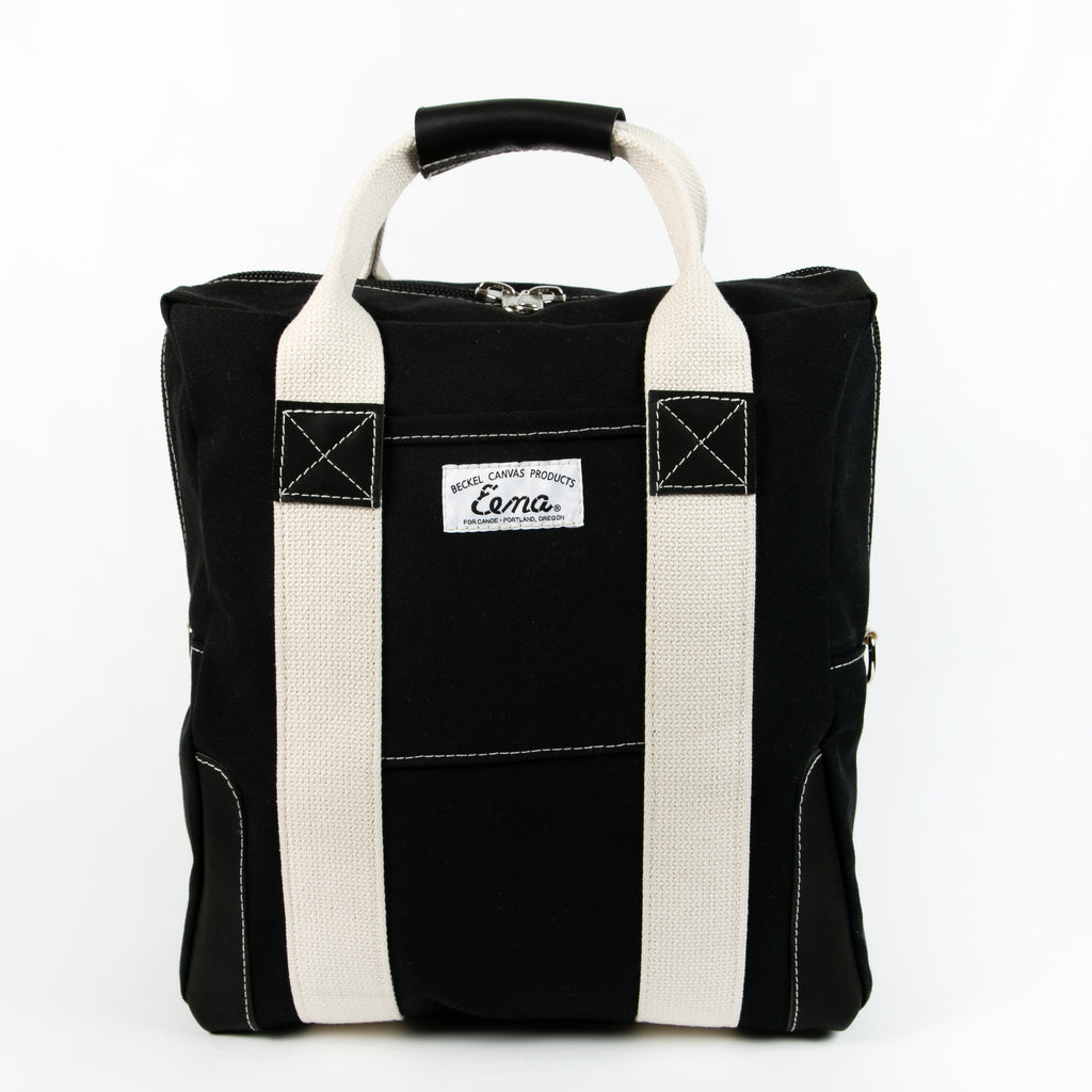Eena Canvas Zipper Tote
