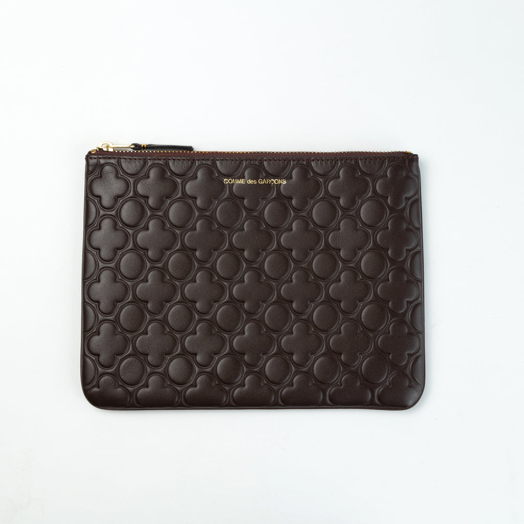 "Comme des Garcons Wallets: Classic Embossed ""B"""