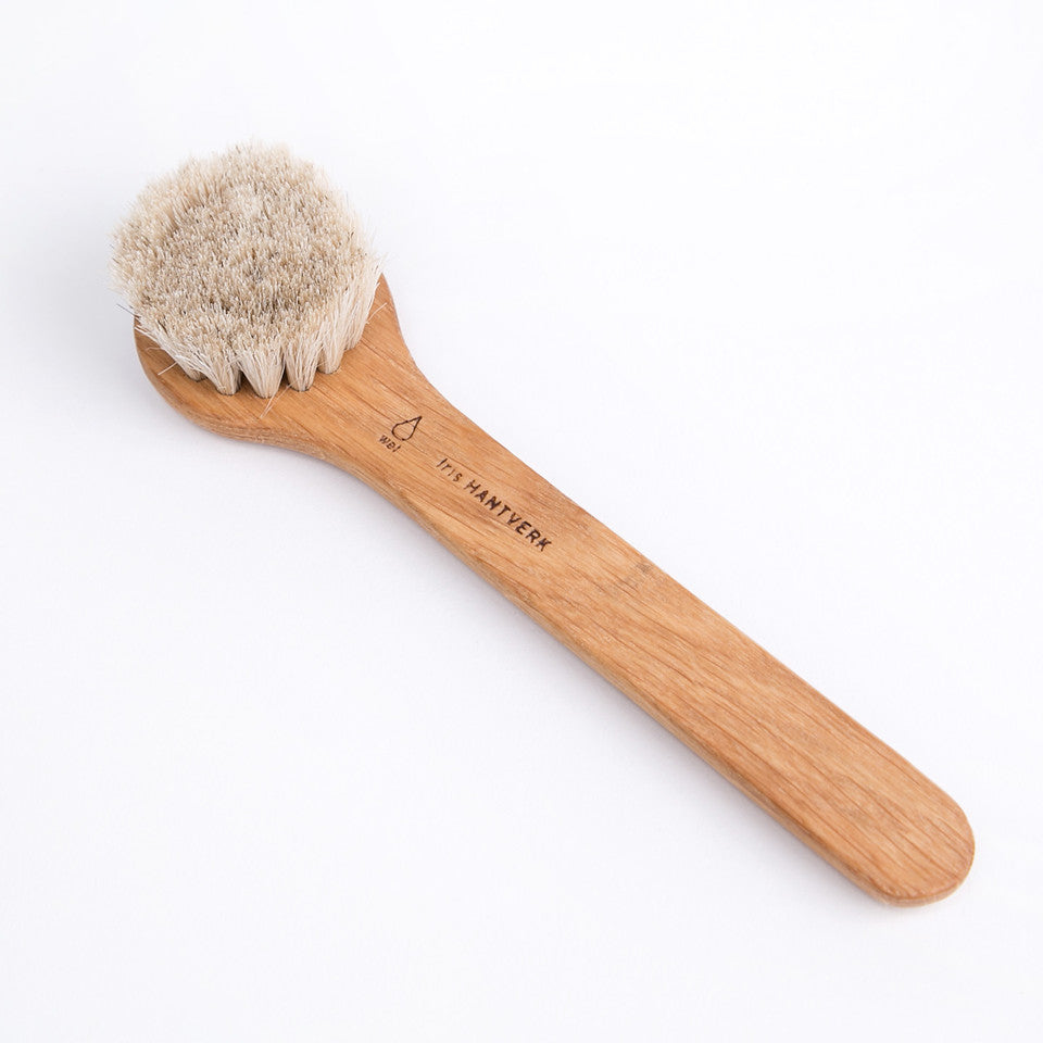 Natural Bristle Face Brushes