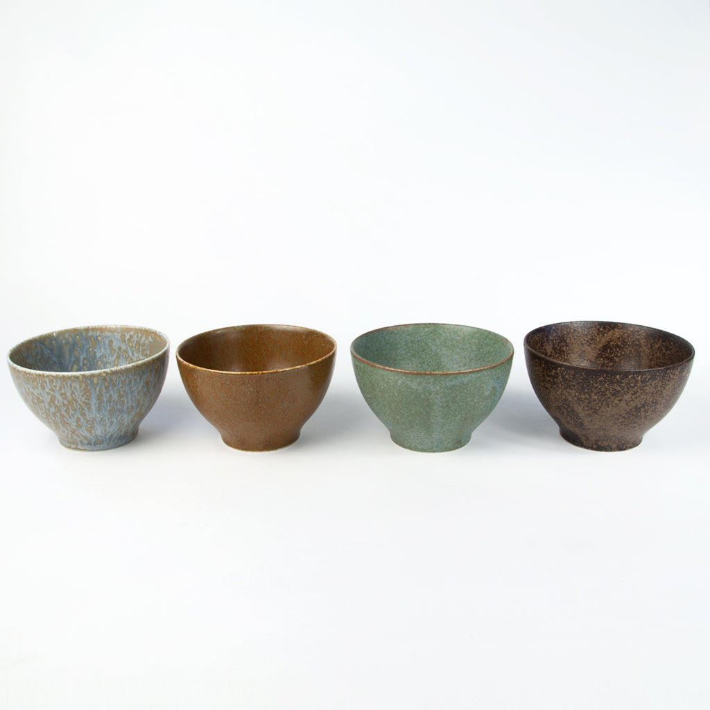 Pacific Forest Stoneware Cup & Bowl Sets