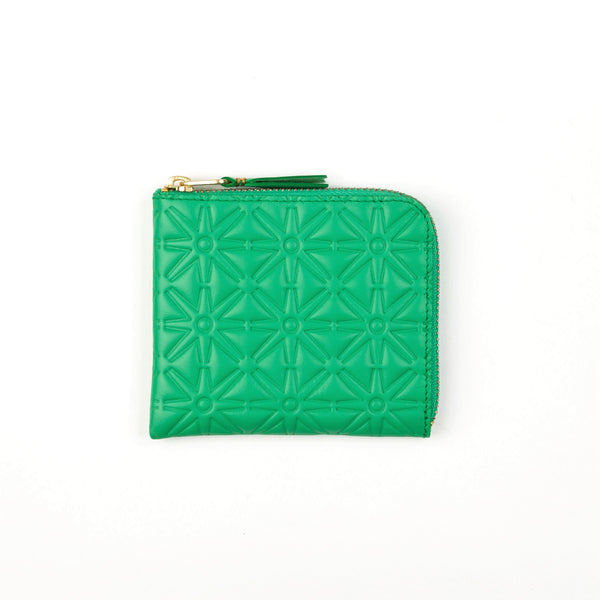 "Comme des Garcons Wallets: Color Embossed ""A"""
