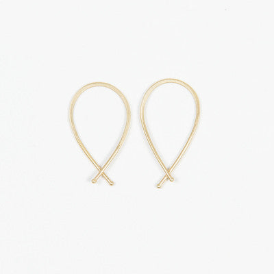 Carla Caruso Ribbon Dainty Hoop Collection
