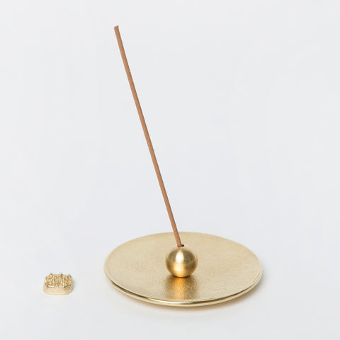 Brass Incense Holder Set