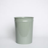 Enameled Steel Wastebasket