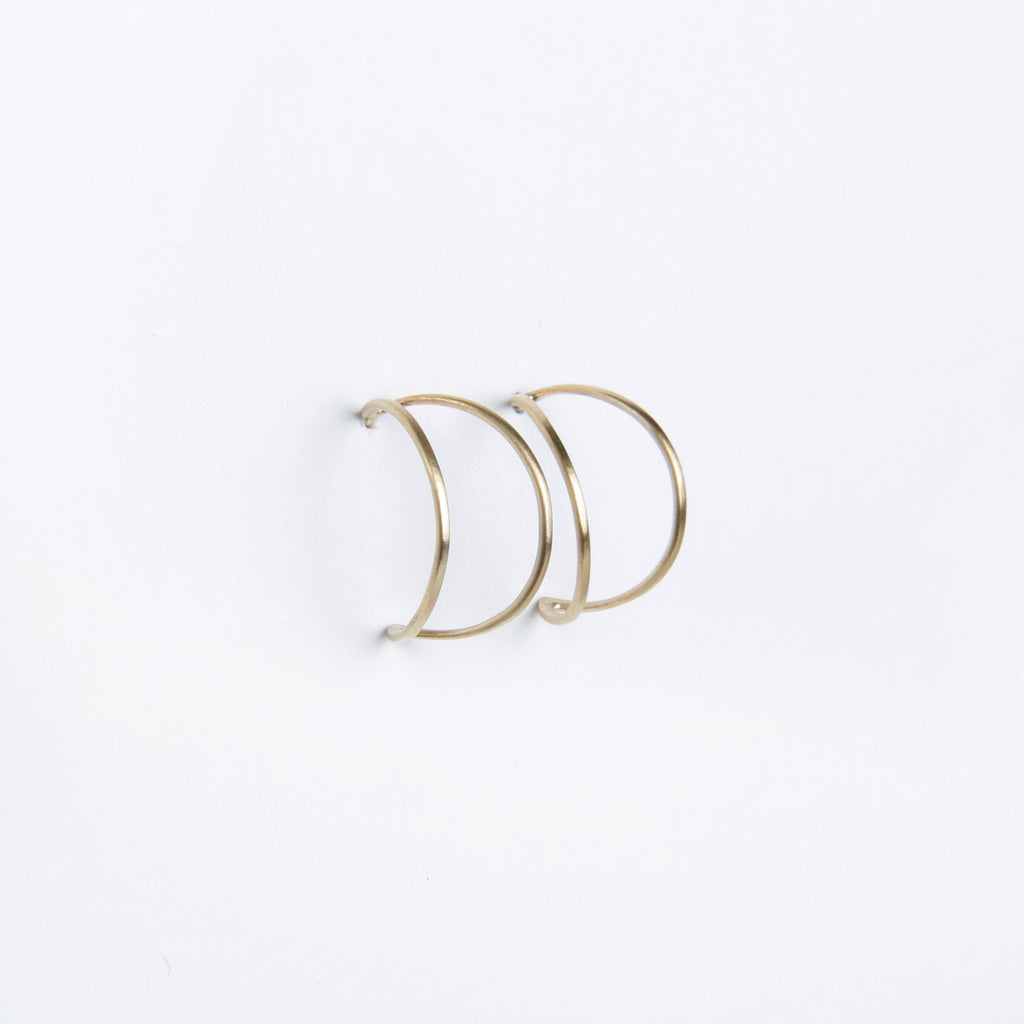 Carla Caruso Moonlight Hoop Earrings
