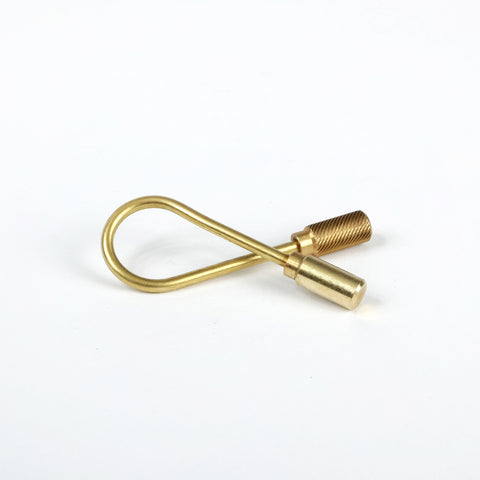 Closed Helix Key Ring
