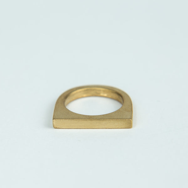 Marmol Radziner Short Slab Rings