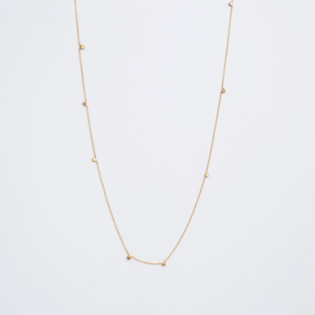 Carla Caruso Random Itty Bitty Circle Necklace