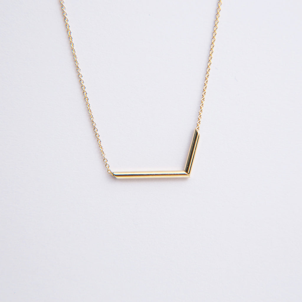 Carla Caruso Chopped Tubular Necklace
