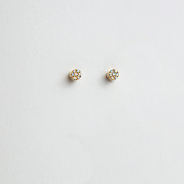 Liven Pavé Cylinder Earrings