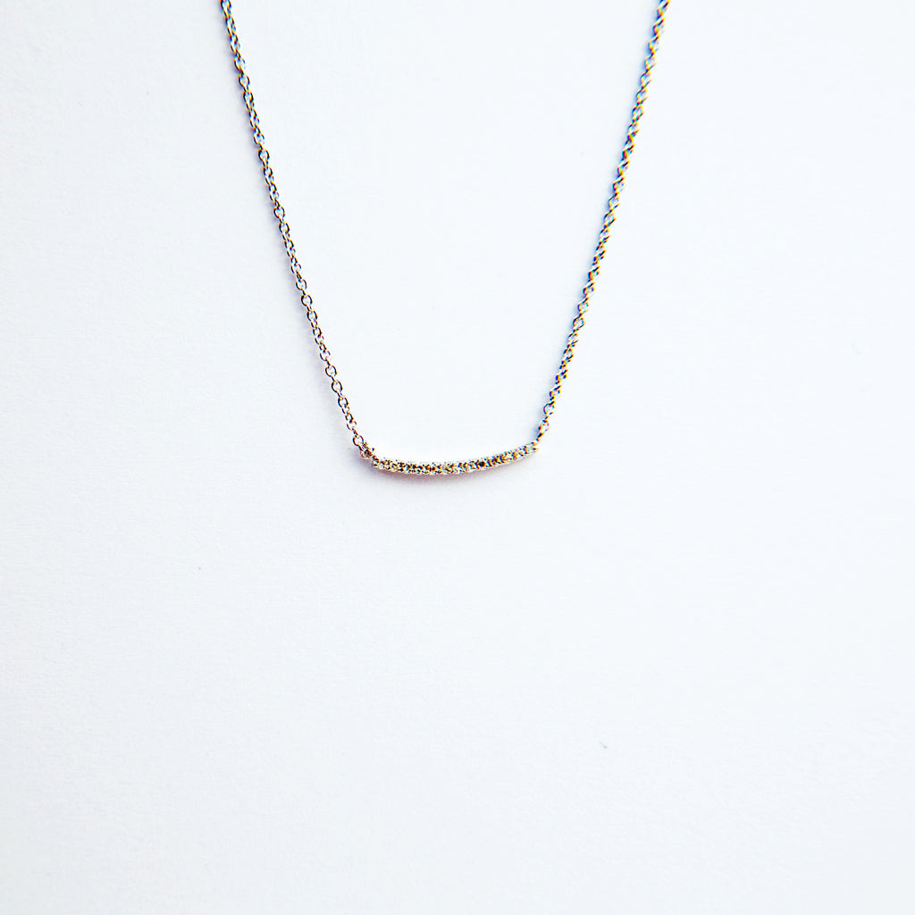 Liven Mini Curved Bar Necklaces