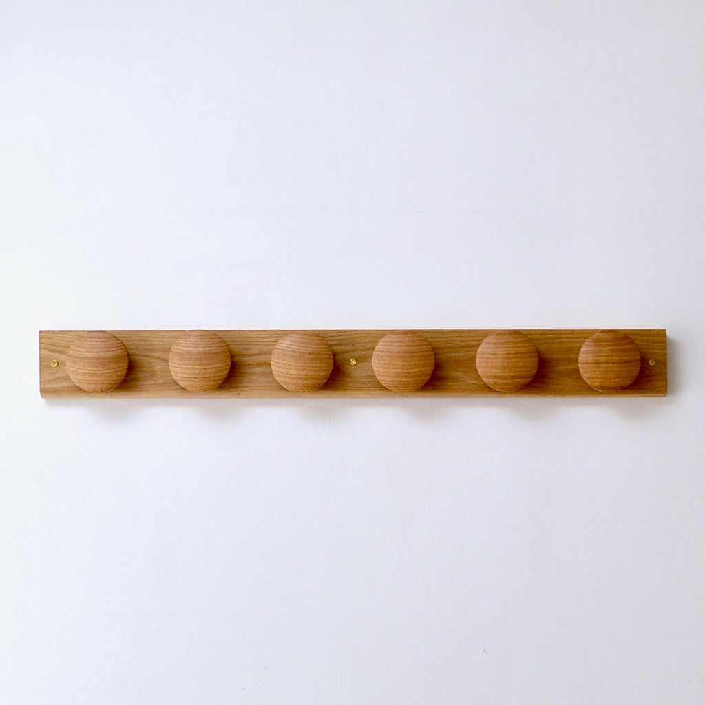 Mokume Coat Rack