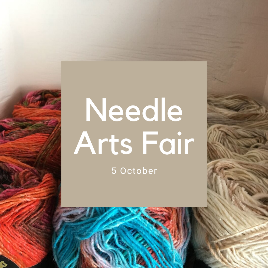 Needle Arts Fair is Sat 5 October!