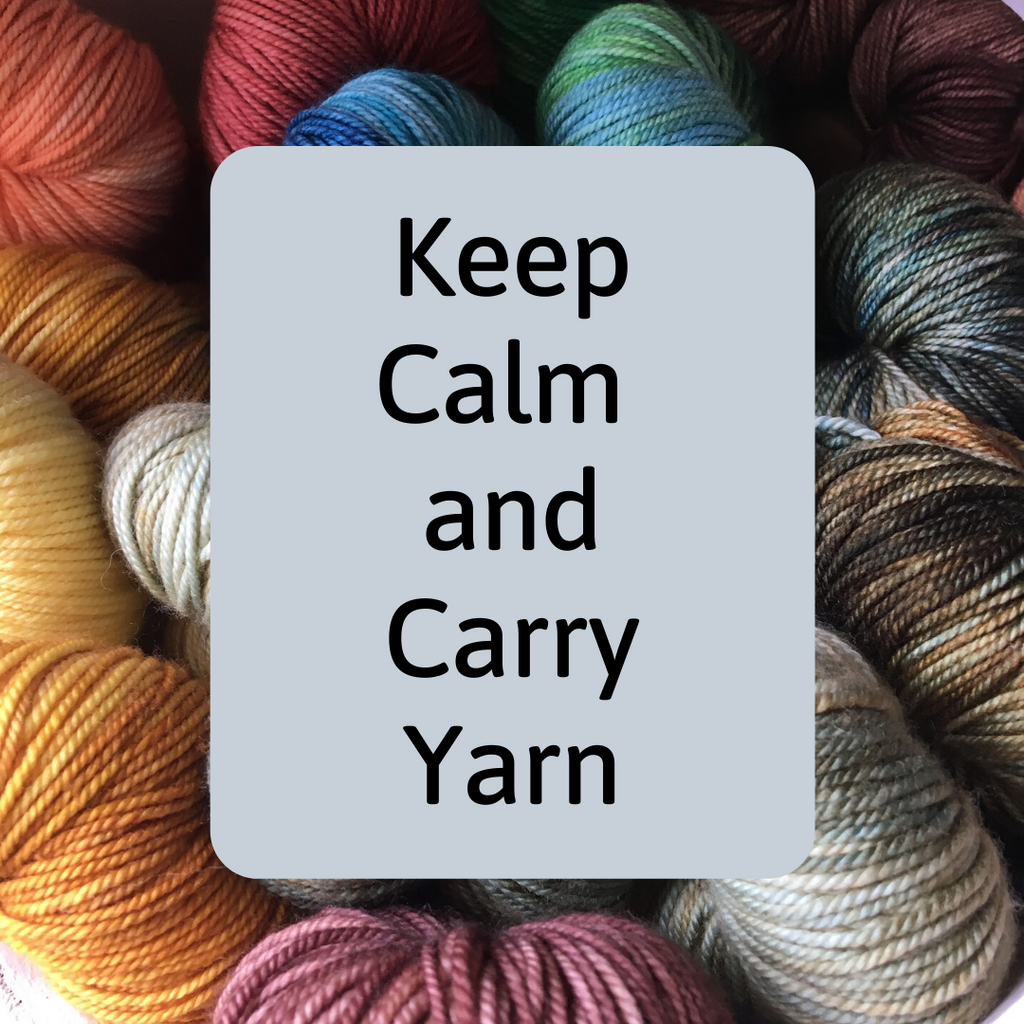 Keep Calm and Carry Yarn: Purlin' J's Shopping Options