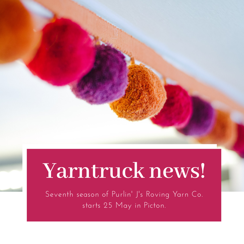 Back on the road! Yarntruck: 2019