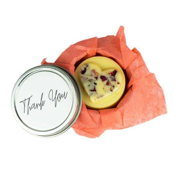 Gift Lotion Bar - Thank You / Heart
