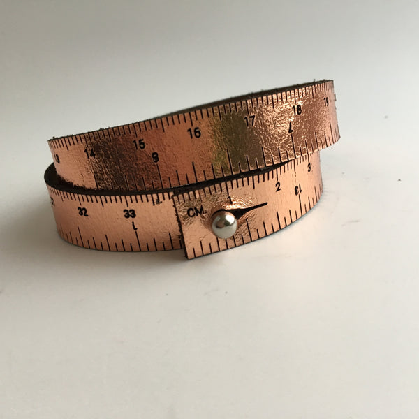 Wrist Ruler Metallic
