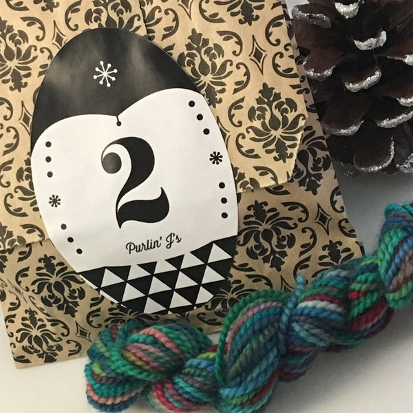 2018 PREORDER: Limited Edition Yarn Advent Calendar