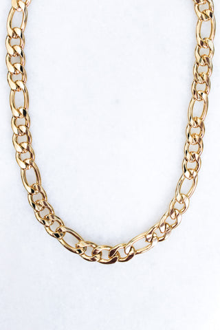 Banks Chain Necklace - Gold