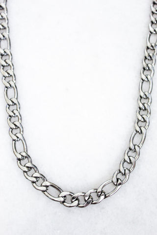 Banks Chain Necklace - Silver
