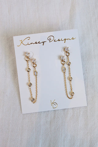 Cleo Double-Post Earring