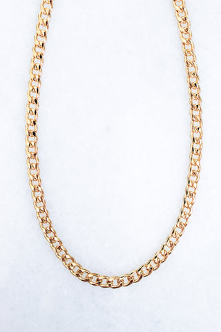 Moxie Chain Necklace - Gold