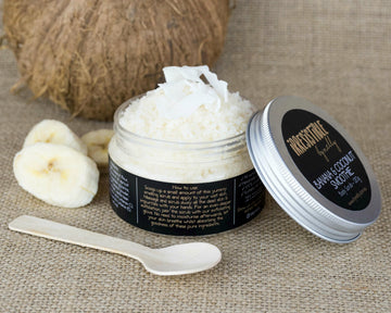 Banana & Coconut Smoothie Body Scrub 120g