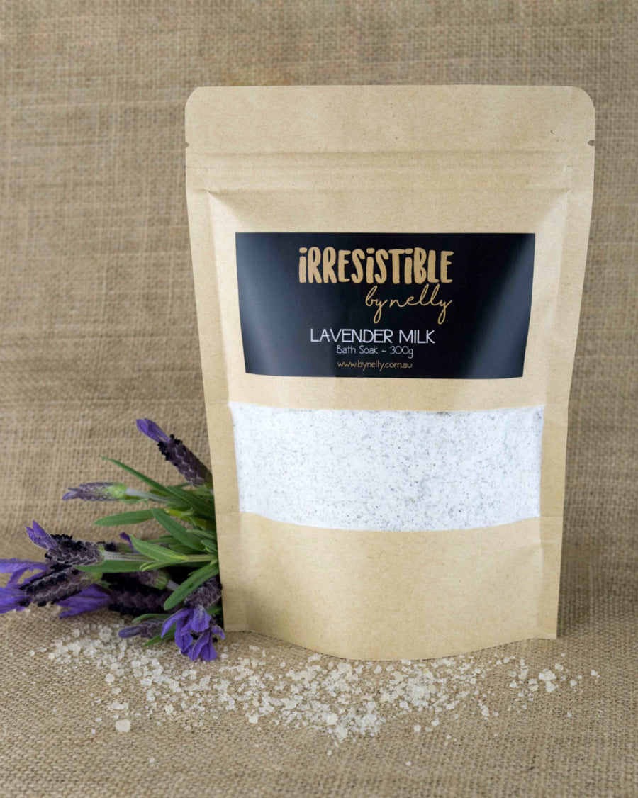 Lavender Milk Bath Soak 300g
