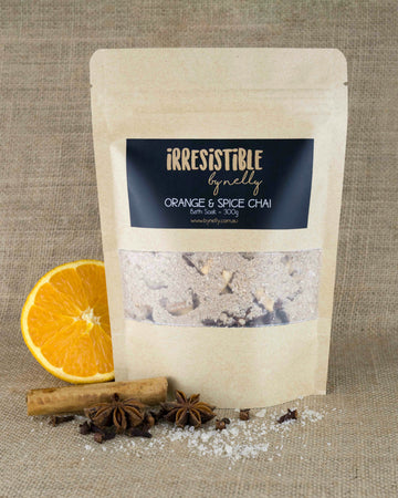 Orange & Spice Chai Bath Soak 300g