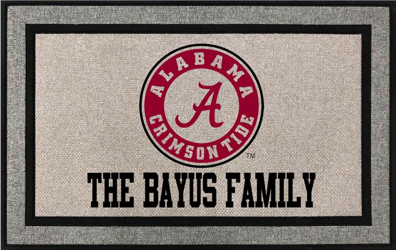 University of Alabama Roll tide Door Mat