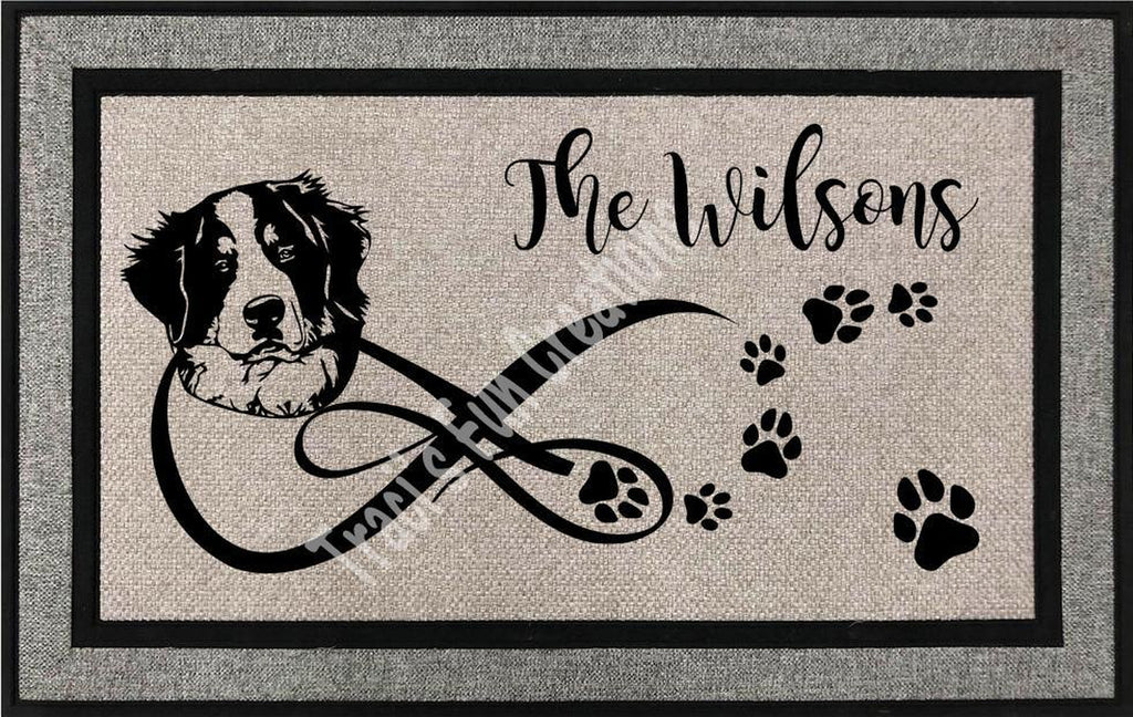 Bernese Mountain Door Mat
