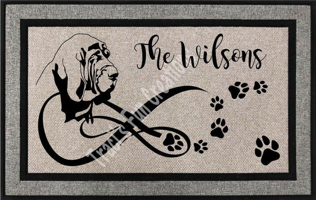 Bloodhound Door Mat